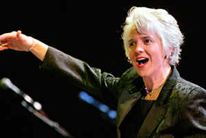 Joan conducting